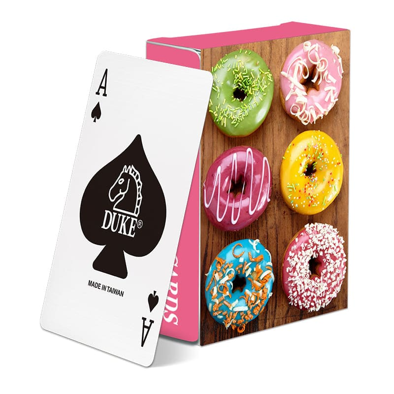 Giveaway paper poker - Food
